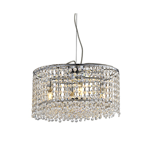 JF1609 P3 3 light crystal chandelier1 3