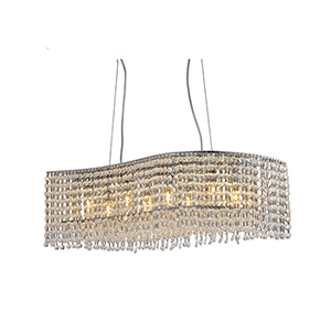 JF1609 P4 4 light crystal chandelier 1 3