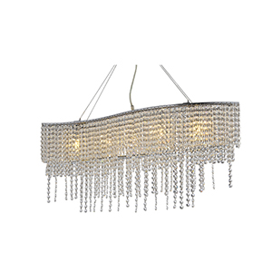JF1609 P5 5 light crystal chandelier 4